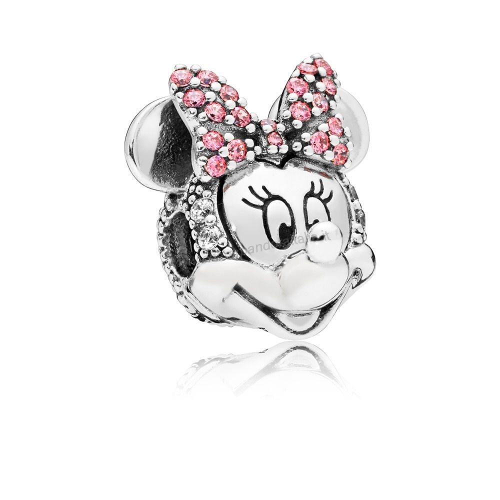 Accessori Pandora Clip Disney, Portrait De Minnie Scintillant