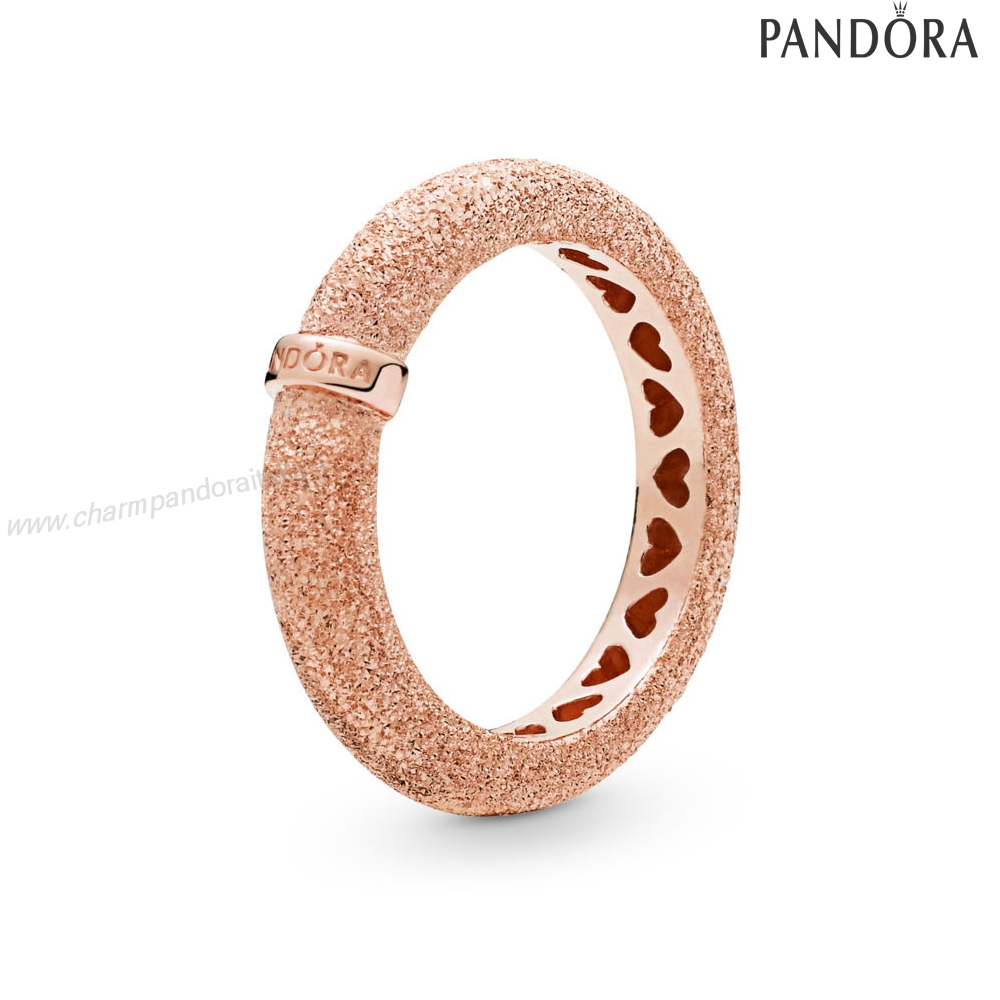 Accessori Pandora Matte Brilliance Anelli, Pandora Rose™