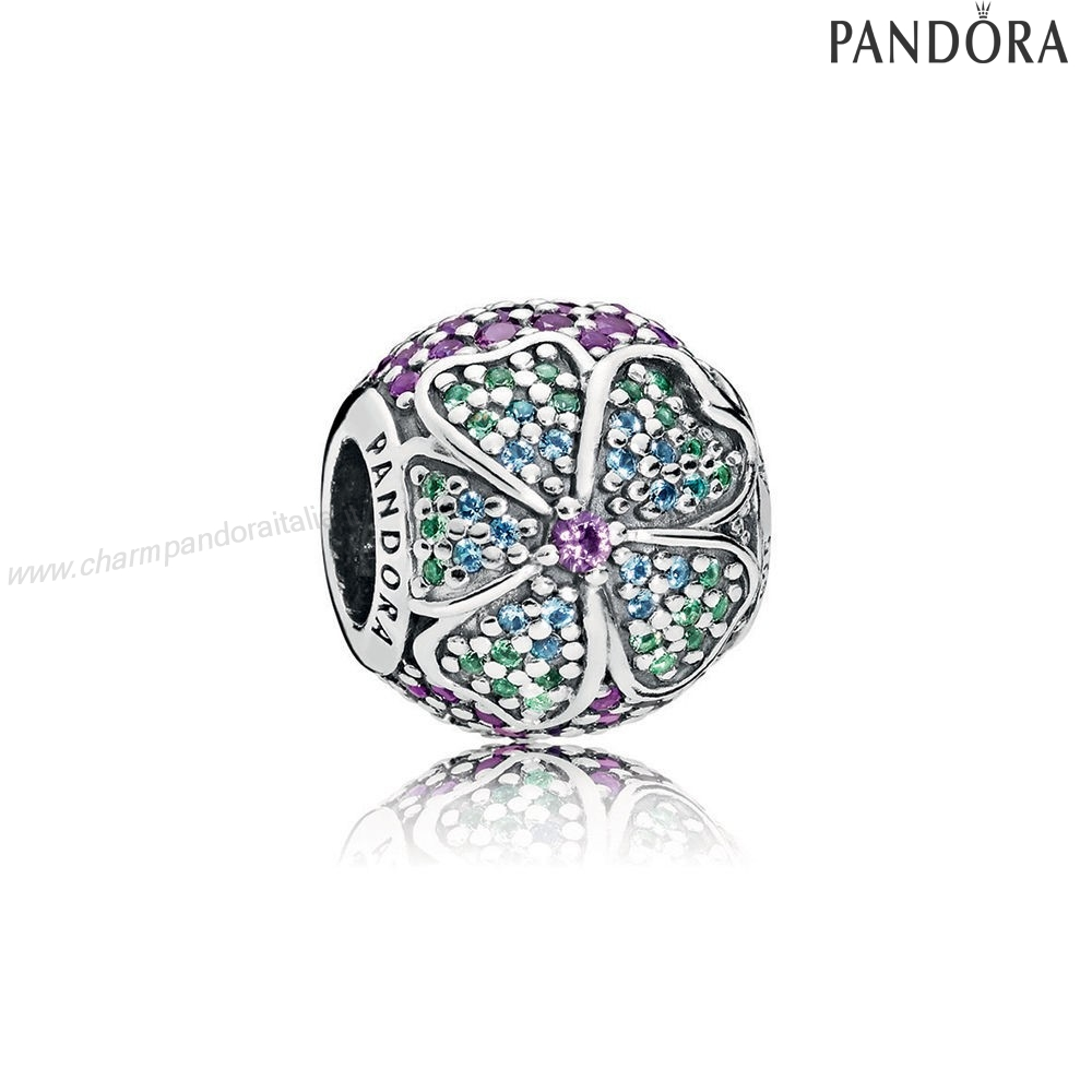 Accessori Pandora Glorious Bloom Multicolore Cz