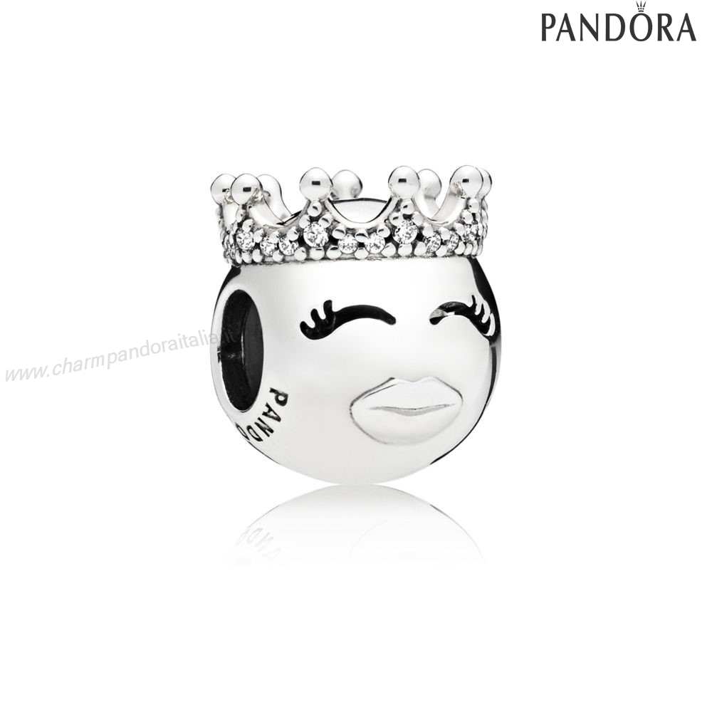 Accessori Pandora Principessa Emoticon Fascino