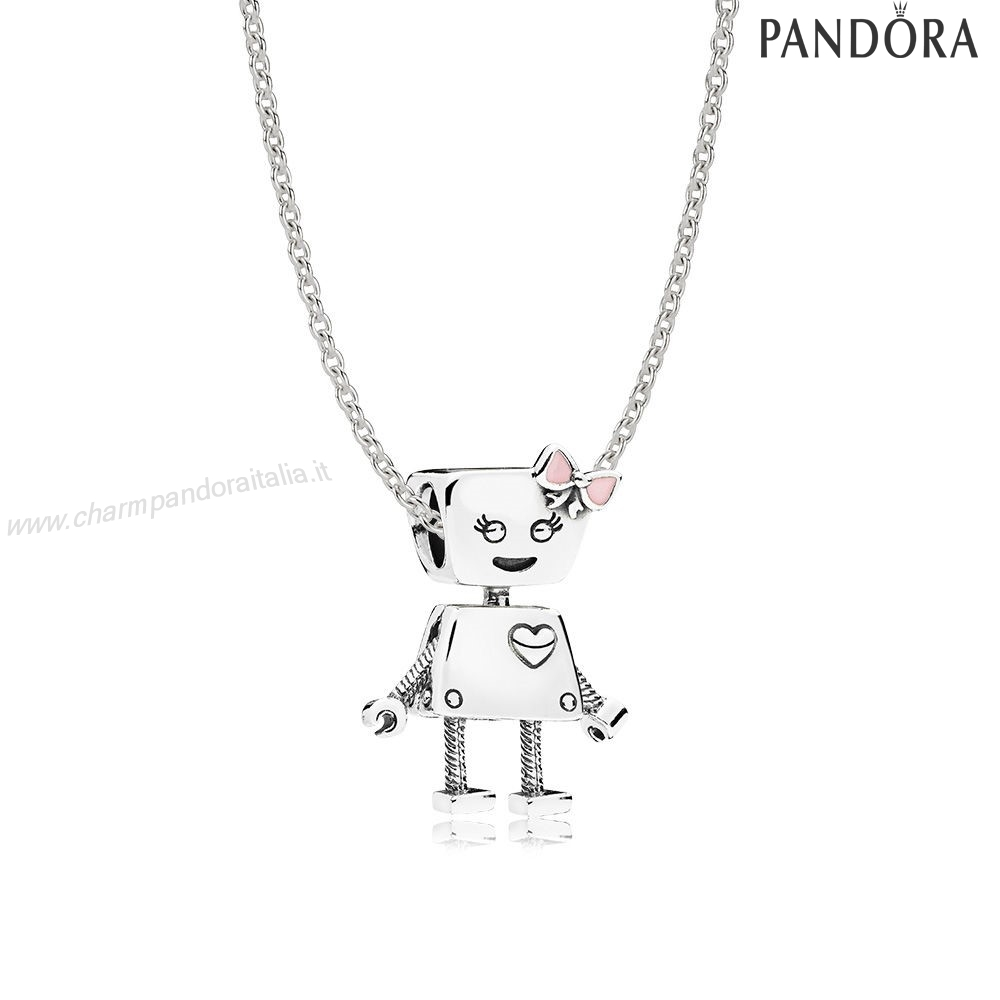 Accessori Pandora Sterlina Argento Bella Bot Collane Impostato