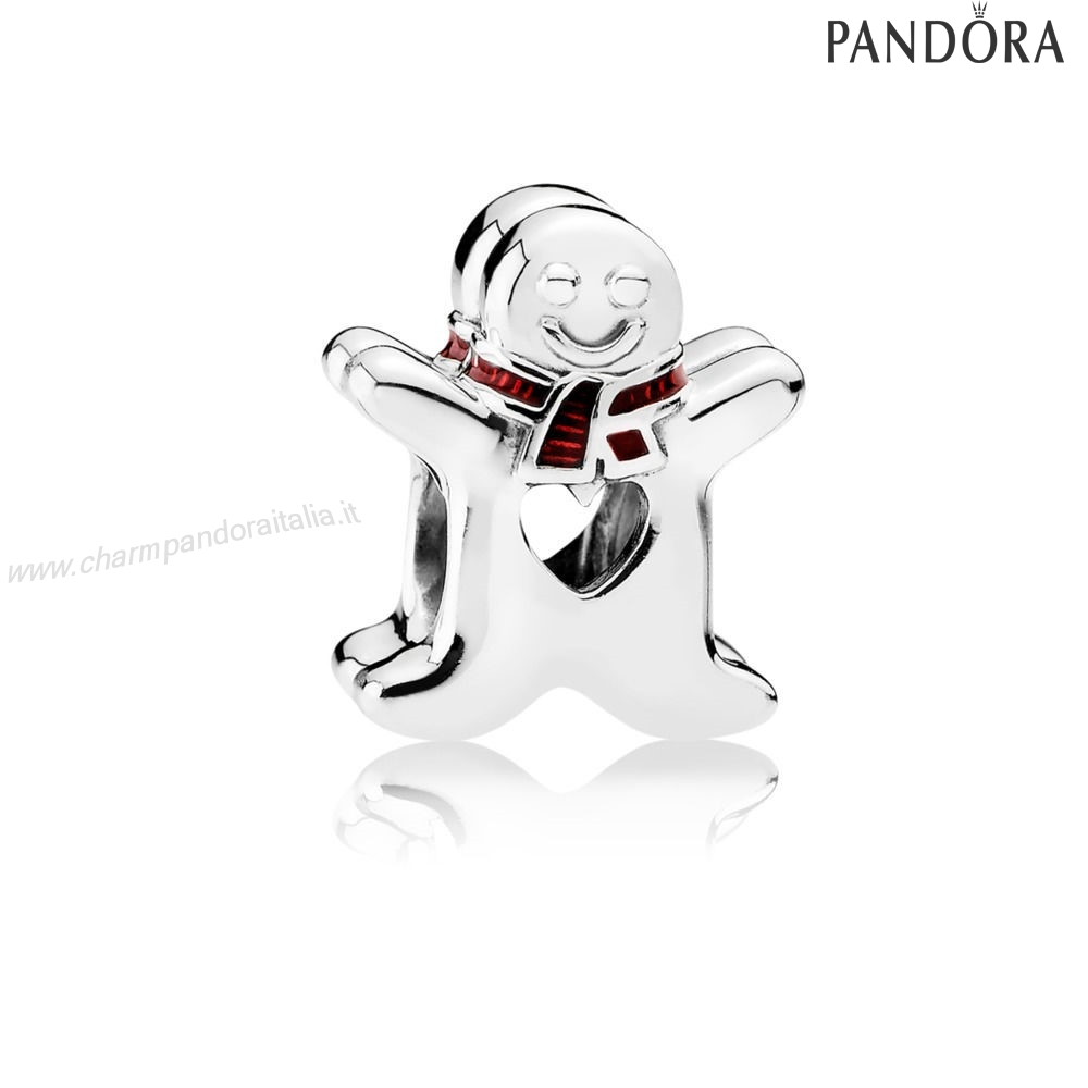 Accessori Pandora Sweet Gingerbread Man Apertowork Fascino